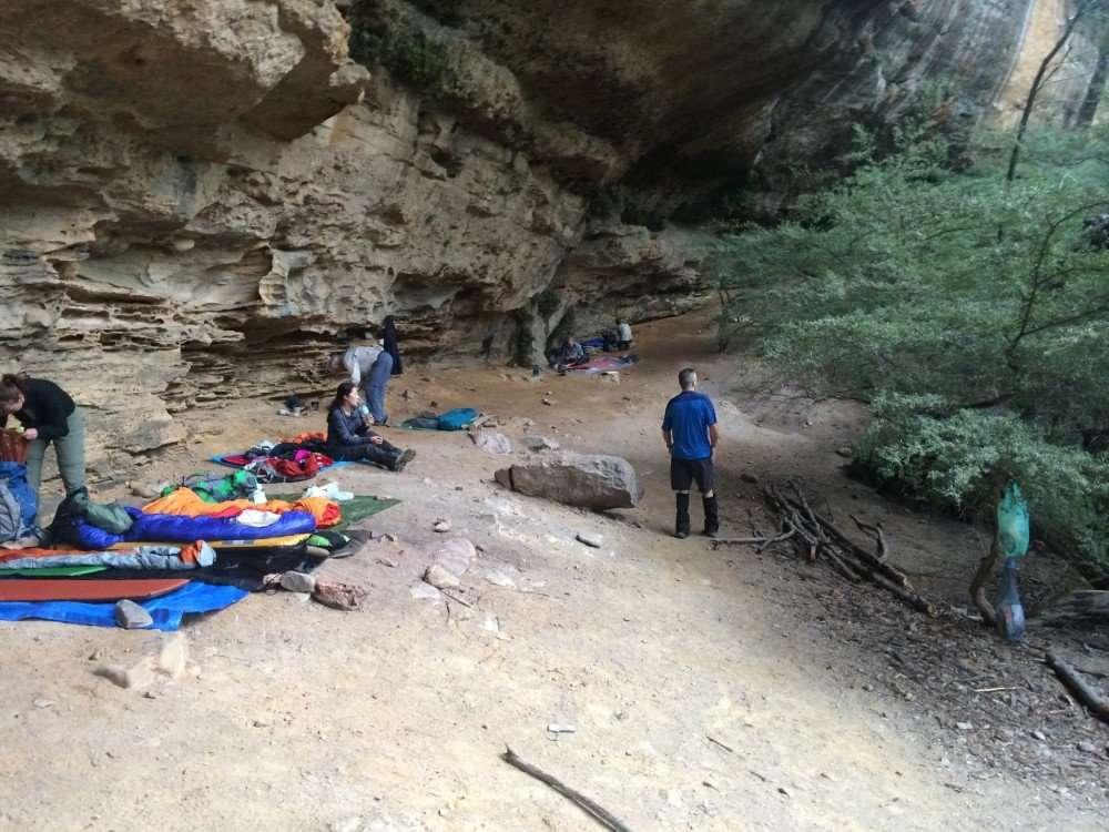 Hundred Man Cave, Kanagra-Boyd National Park
