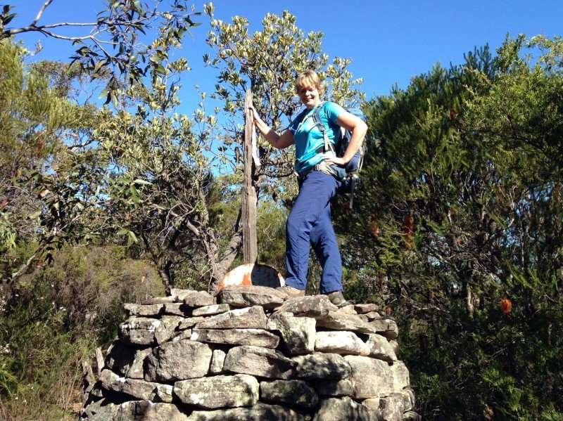 Cole Trig on Taffys Rock Path