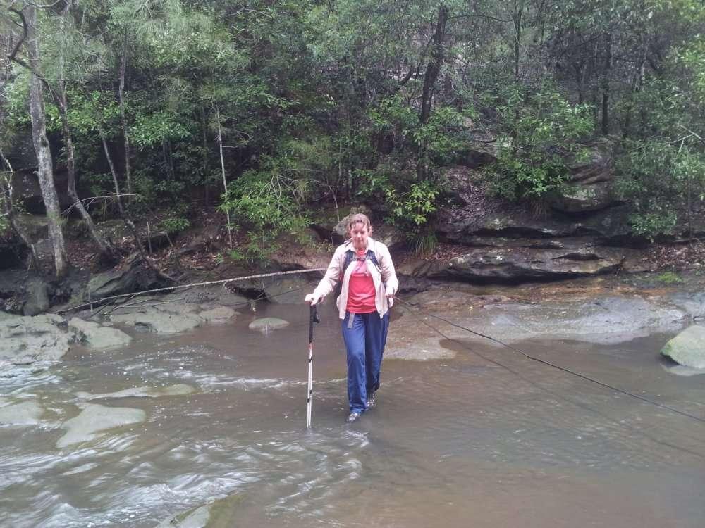 Rocky Creek Crossing Low Tide