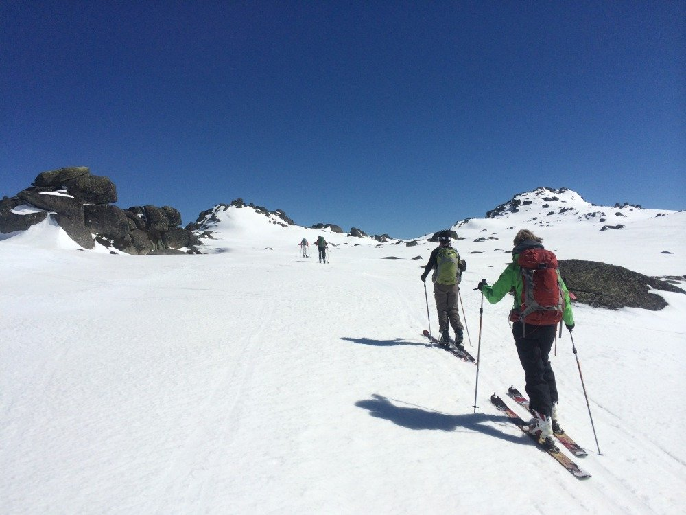 You are currently viewing Ski-touring to the top of Australia