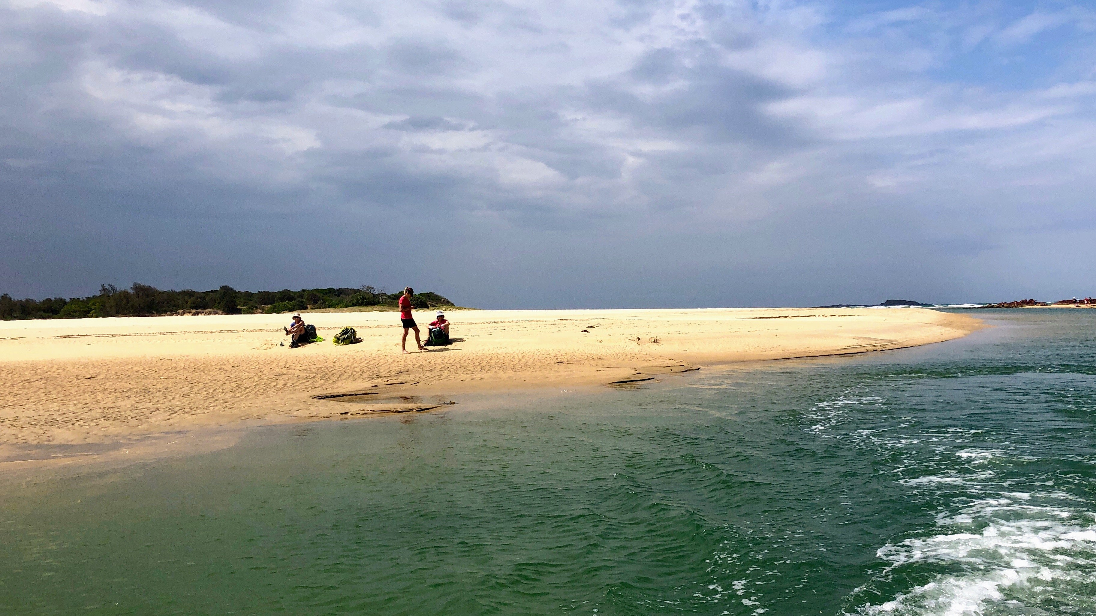 Yuraygir Coastal Walk - Corindi River crossing