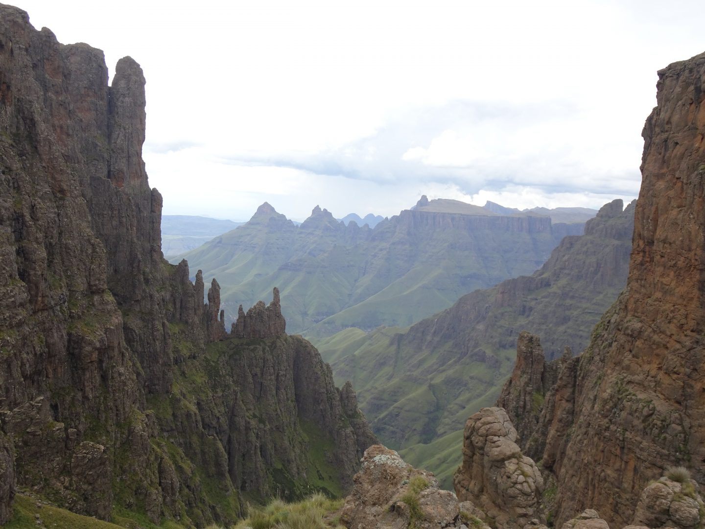 Drakensberg Madonna and her Worshippers