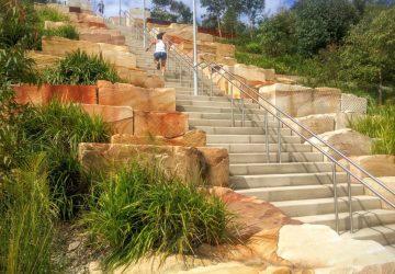 Sydney Urban Workouts – Stairs around Barangaroo